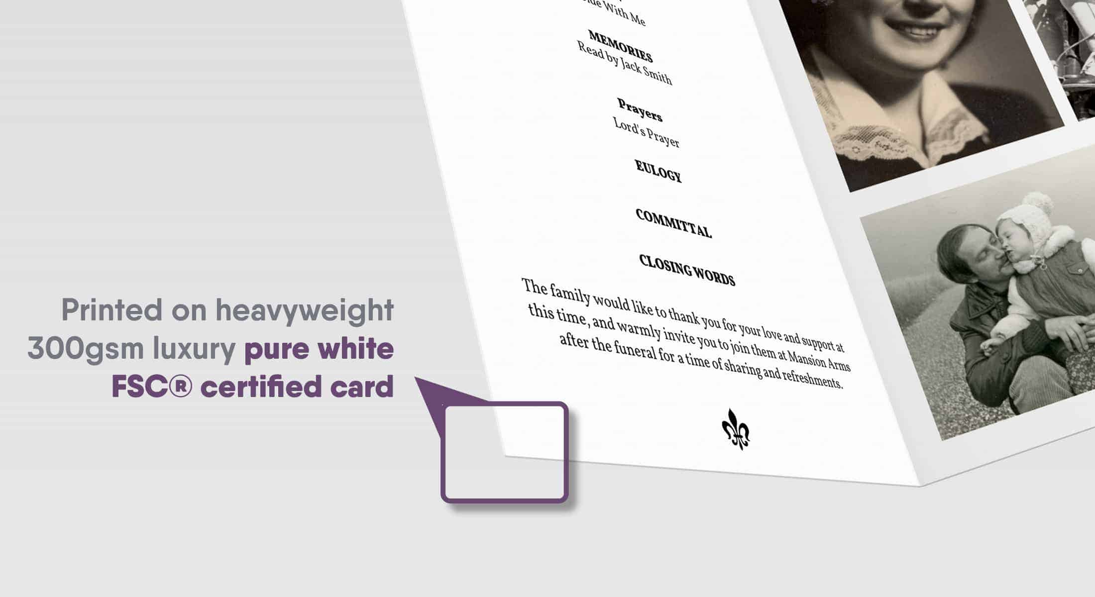 Luxury Heavyweight Card