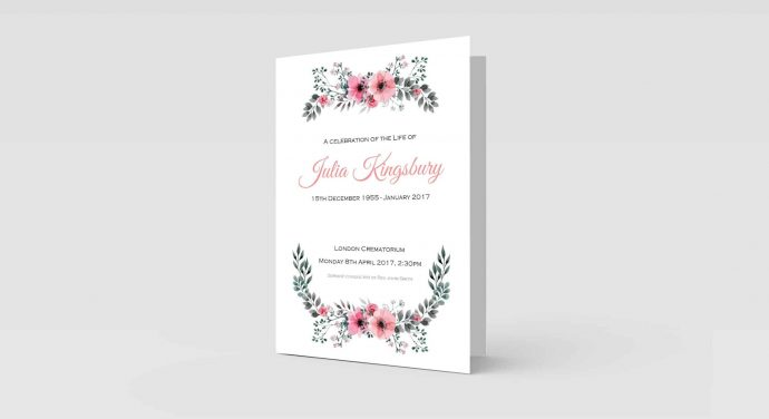Floral Watercolour Border