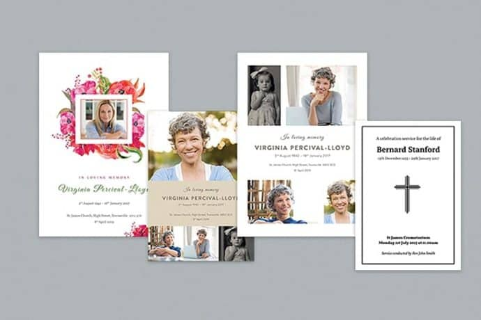 free funeral Template Designs