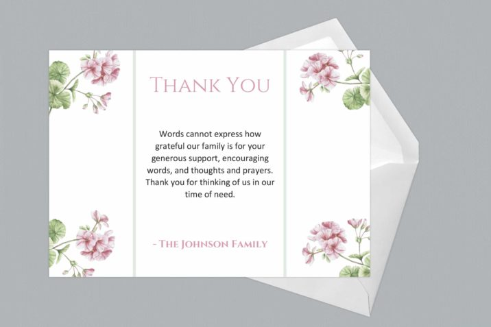 Thank You Card Style Ten