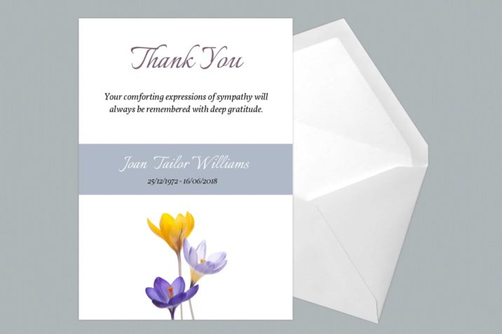 Thank You Card Style Two