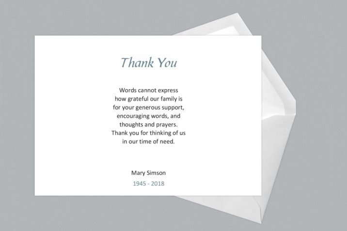 Thank You Card Style Three