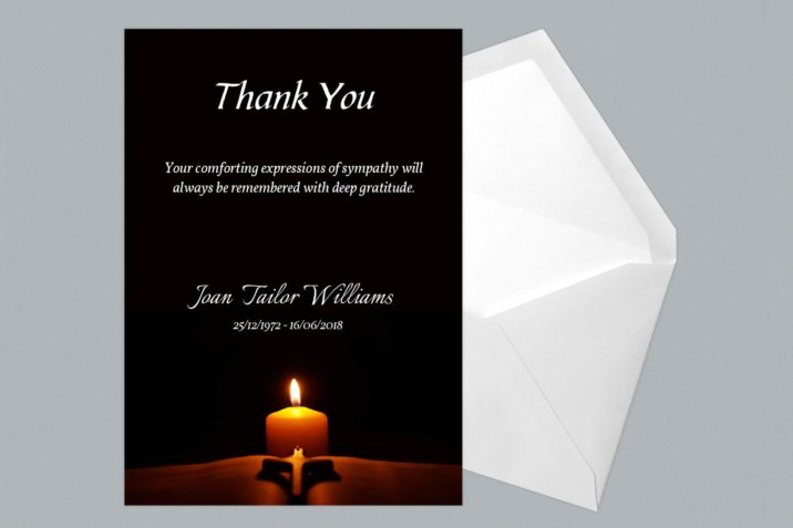 Thank You Card Style Four