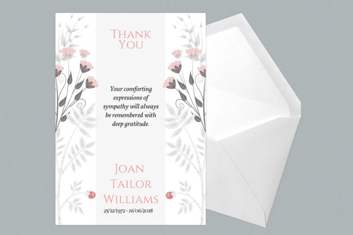 Thank You Card Style Five