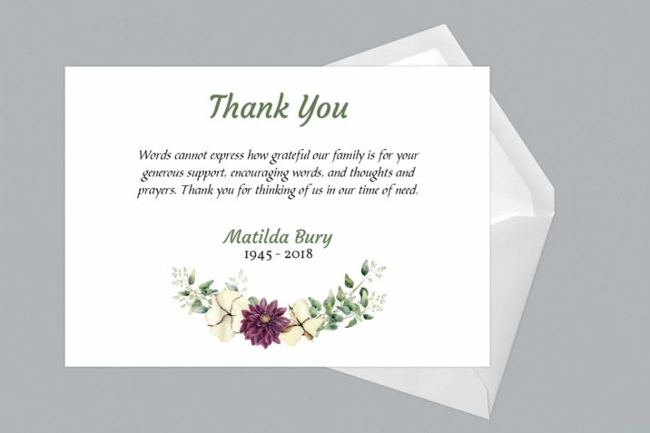 Thank You Card Style Six