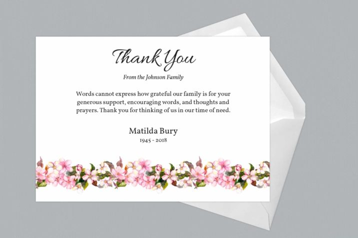 Thank You Card Style Eight